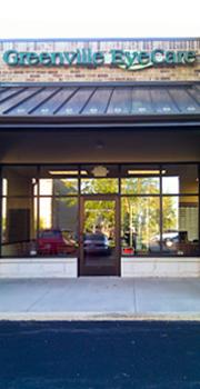 Greenville EyeCare Storefront